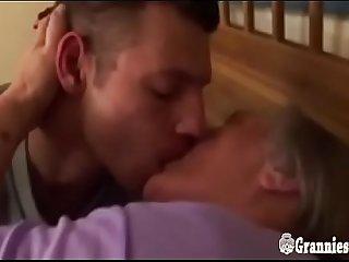 Old Curvy Granny With Huge Boobs Still Loves Sex