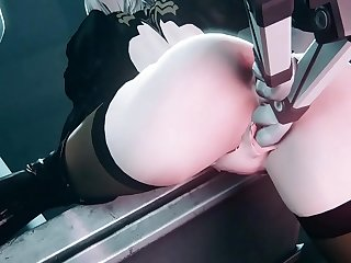 3D Porn [UNCENSORED]  Sex machine