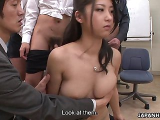 It ain't easy being a hot Asian at the office